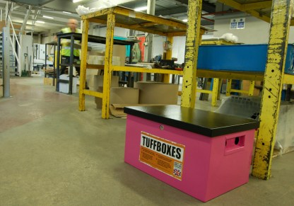 Tuffbox Original Pink Secure Toolbox