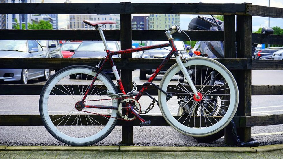 51% of bicycles stolen are worth over £200, with 8% hitting the £1000 mark