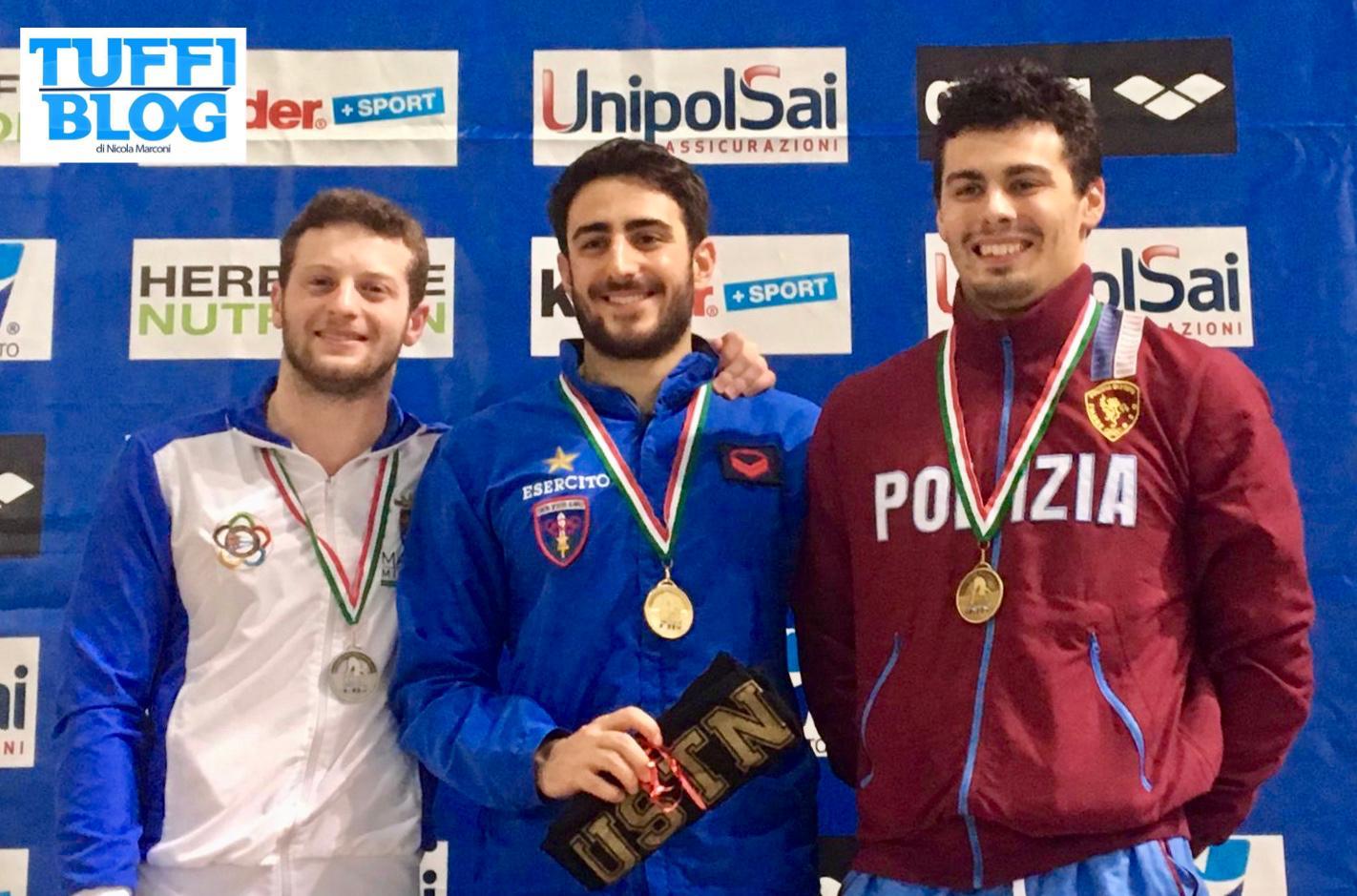 Categoria Indoor: Trieste - prima giornata, Tocci e Bertocchi subito a segno.