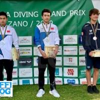 FINA Diving GP: Bolzano – finali 3a giornata, la carica dei giovani: bronzo Giovannini, argento Pellacani!