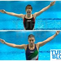 Campionati Europei: Budapest - eliminatoria 1m, Bertocchi seconda, Pellacani terza!