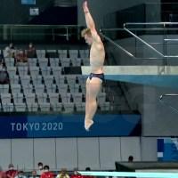 Olimpiadi Tokyo 2020 - semifinale trampolino, Laugher vola, quinta finale olimpica per Ken Terauchi!
