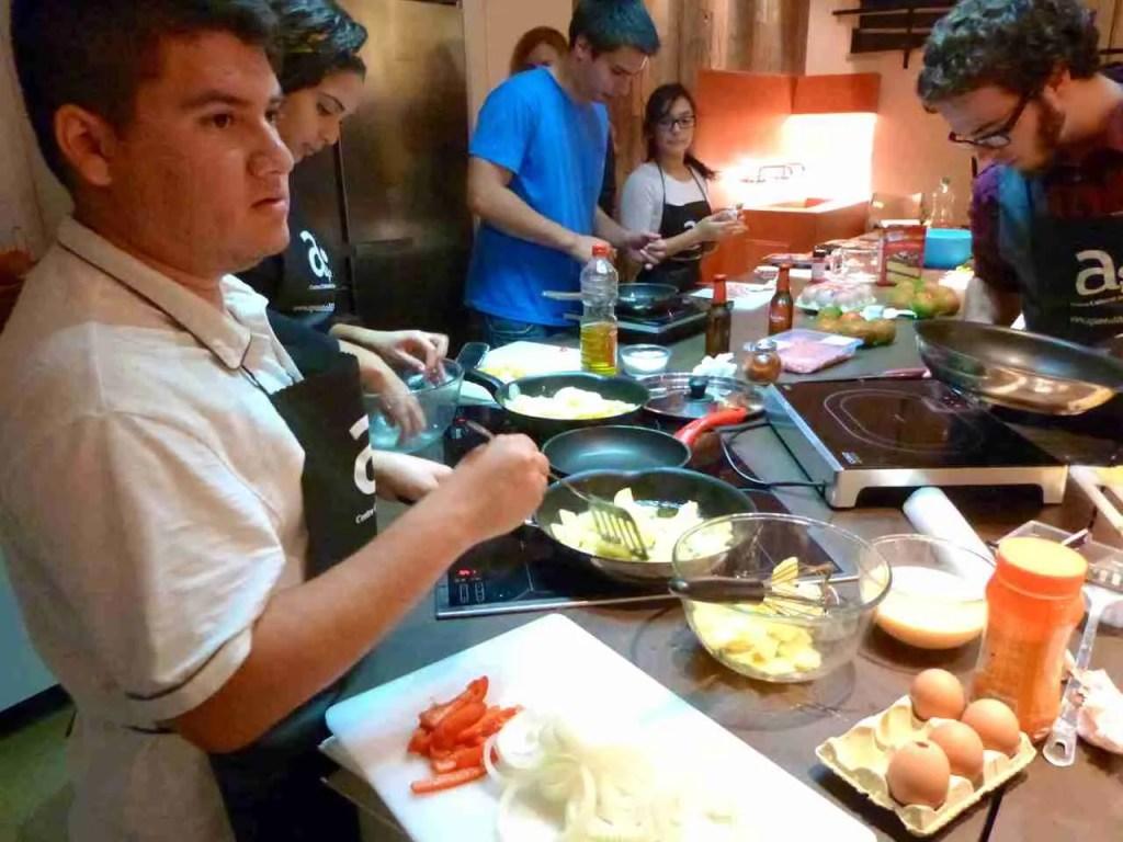 Cocinando en otoño de 2013