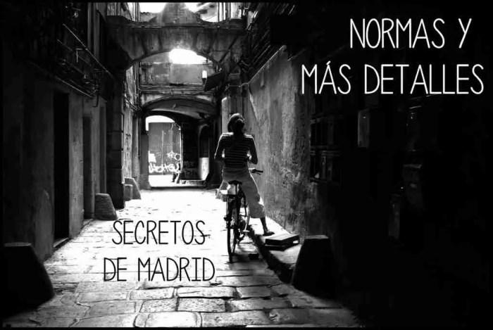 NORMAS SECRETOS