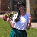Ana I. del Casar, becaria de UAM en Skidmore College, 2015-16