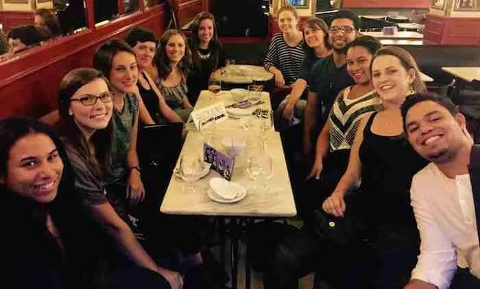 Skidmore Network Gathering (Café Central, Madrid)