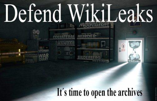 Sites de Apoio ao Wikileaks