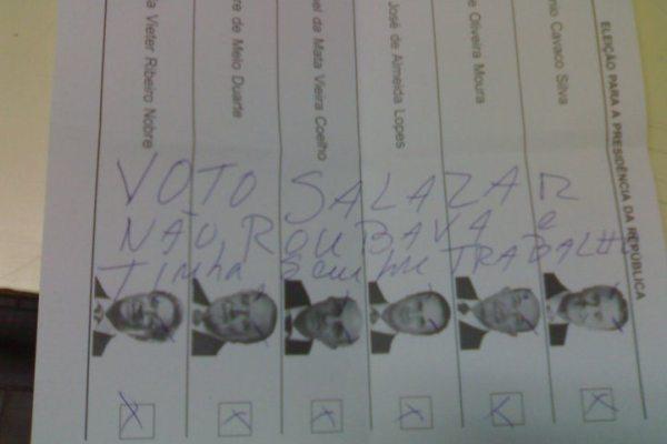 [Fun] Voto em Salazar