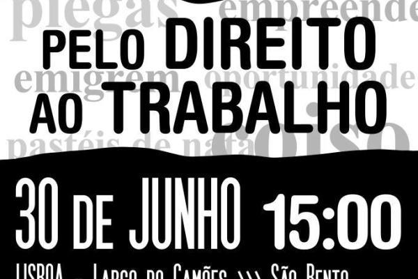 Movimento Sem Emprego convoca manifestação para amanhã em 3 cidades