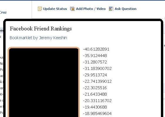 Controlo do Facebook