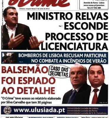 """""""Amigos"""" de Miguel Relvas tentam um novo caso Publico contra a comunicação social"""