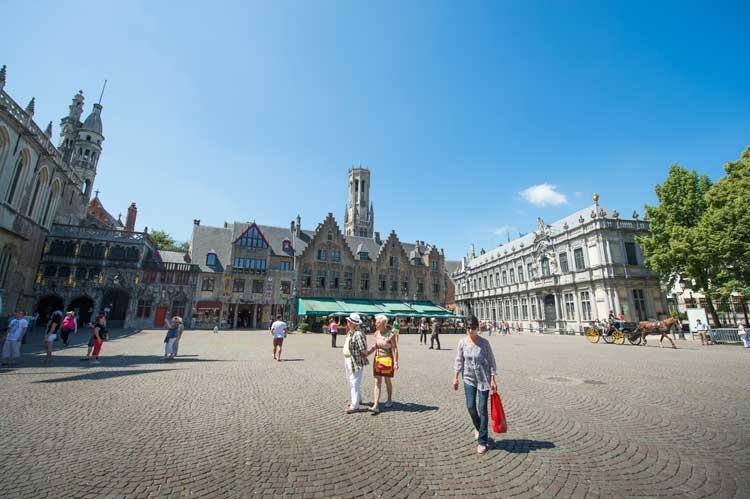 Burgplein de Brujas. © Kris-Jacobs / Visit Flanders