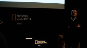 Presentación de Tu Gran Viaje en National Geographic Store_Foto Alberto Efe Diez