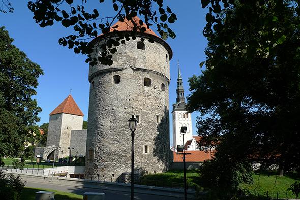 Torre Kiek in de Kok, Tallin, Estonia