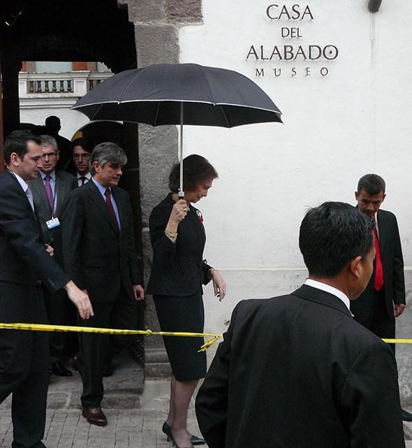 La Reina Sofía en Quito, Ecuador. Foto (c) Jesús García Marín