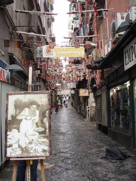 Quartieri Spagnole, Nápoles. Foto de Francisco Jódar