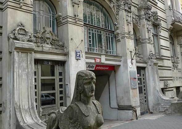 Vivienda modernista en Riga