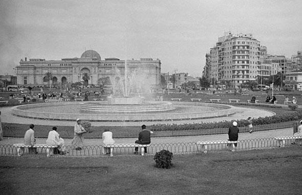 La Plaza Tahrir en 1941