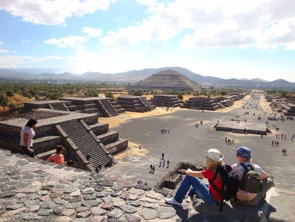 Equinoccio en Teotihuacan