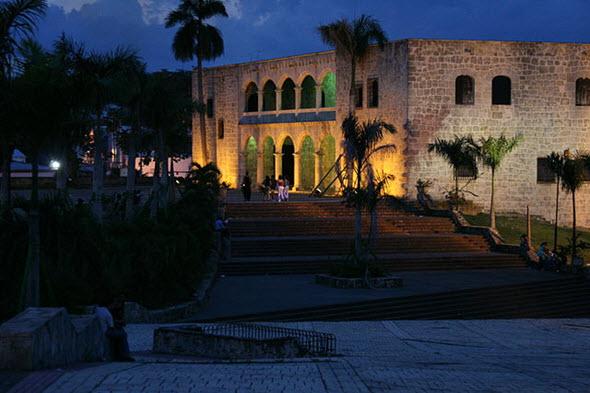 El Alcázar de Colón, en Santo Domingo