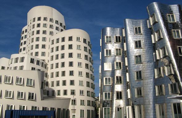 El Medienhafen de Düsseldorf