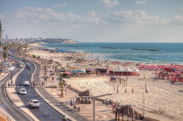Promenade de Tel Aviv