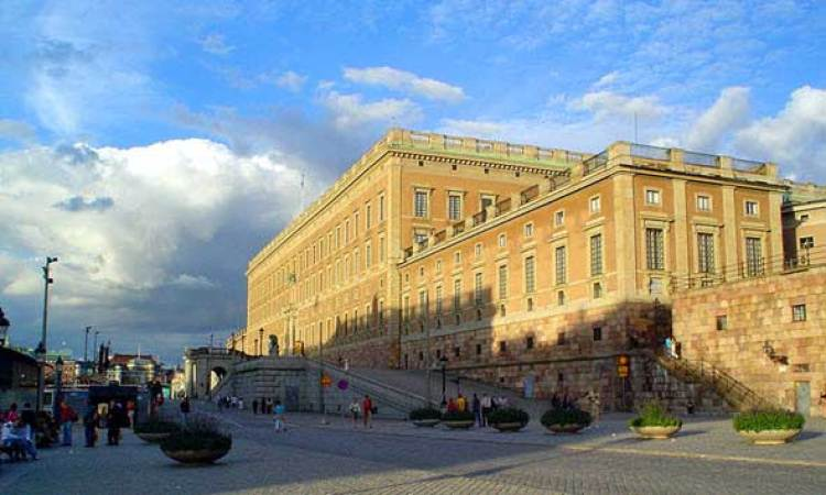 Stockholm Palace. Stockholm slott. Estocolmo. Los palacios reales más famosos del mundo, en Tu Gran Viaje.