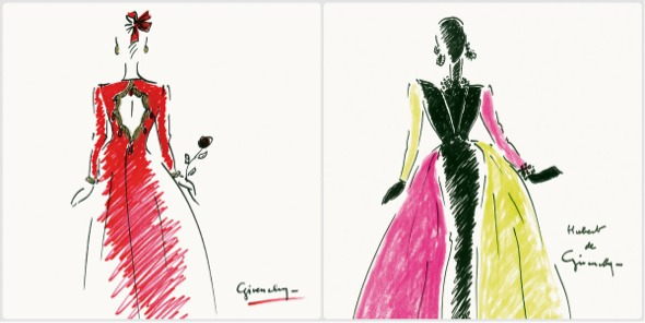 HUBERT DE GIVENCHY en madrid