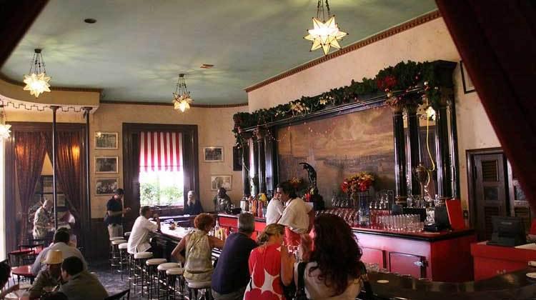 Floritida Bar, cuna de daiquirí, La Habana, Cuba