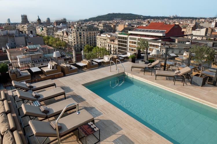 Terraza del Majestic Hotel & Spa de Barcelona