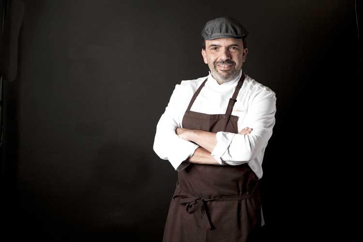 Jesús Sánchez, chef del  Cenador de Amós. Foto ©Pablo Gómez Ogando