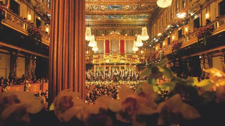 CONCIERTO DE AÑO NUEVO EN VIENA - ©WienTourismus / Lois Lammerhuber  Musikverein: New Year's Concert