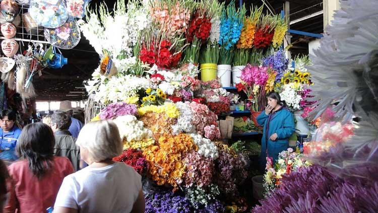 Mercado de San Pedro, Cusco, Perú