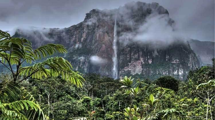 Salto Angel, Venezuela. Foto CC 2.0 Iñaki Lopez