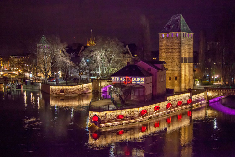 Puente de los suspiros de Estrasburgo. Foto de Philippe de Rexel