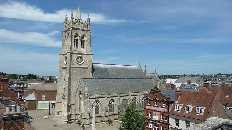 St Thomas Church, Newport, Isla de Wight