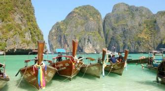 Las islas Phi Phi, Tailandia