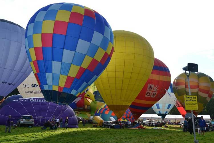 Festival Internacional de Globos Aerostáticos de Bristol, Capital Verde Europea de 2015