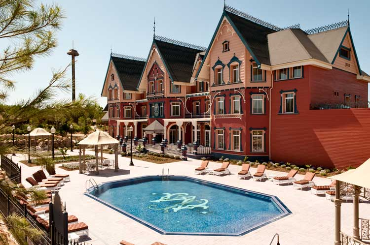Hotel La Mansión de Lucy, en Port Aventura