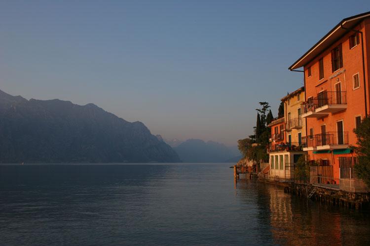 Lago de Garda, Italia