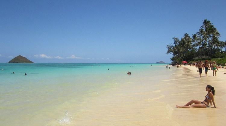 Playa de Lanikai, Hawai