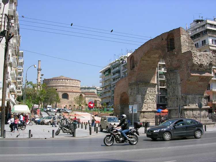 Arco y tumba de Galerio, Salónica