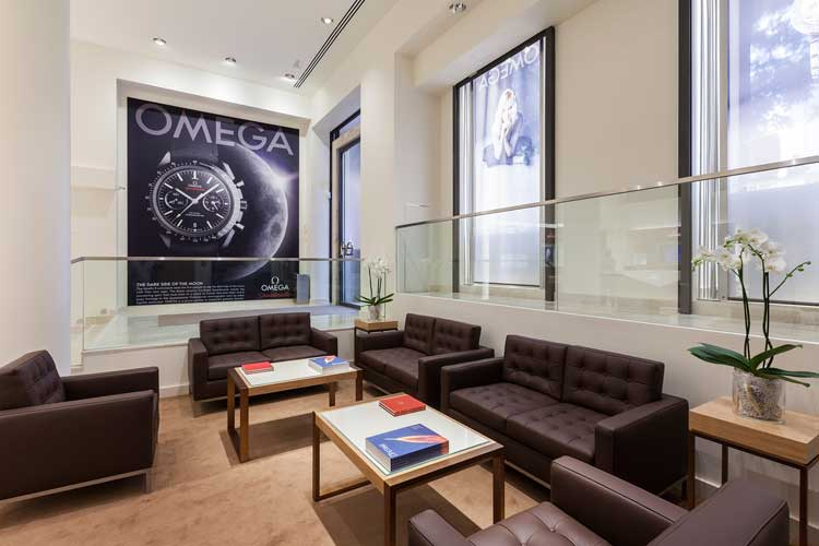 Boutique OMEGA de Madrid