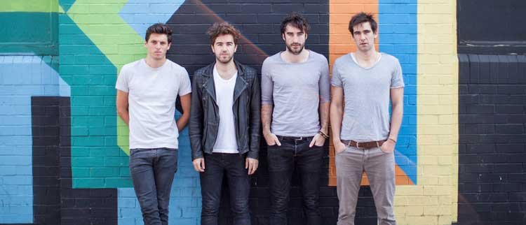 The Coronas. Nochevieja 2015 Dublín