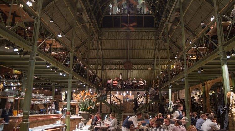 Restaurante Dhet Pakhuis de Gante. Foto © Carmelo Jordá