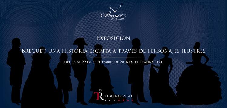 """Exposición """"Breguet, una historia escrita a través de personajes ilustres"""", en el Palacio Real de Madrid"""