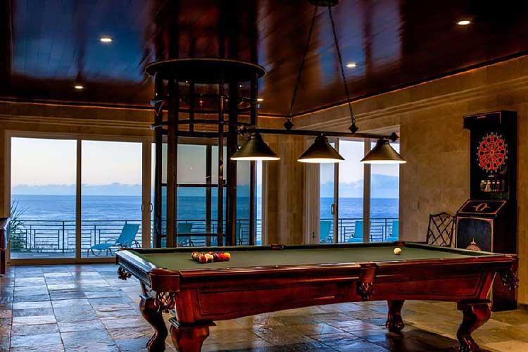 Interior de la mansión de vacaciones de Justin Bieber en Hawaii