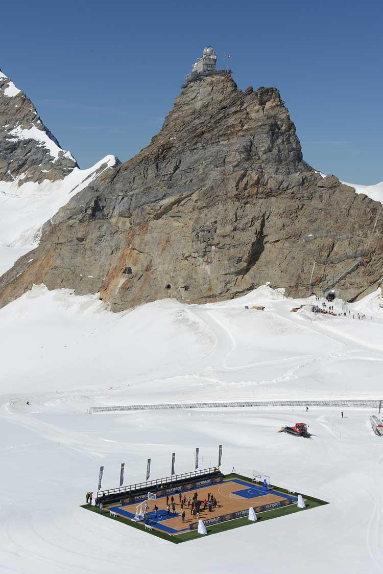 Tony Parker en el Jungfrau. Tu Gran Viaje