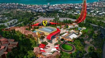 Presentación de Ferrari Land PortAventura