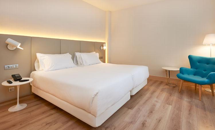 Habitación del NH Bilbao Deusto. Tu Gran Viaje